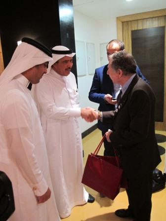 Visit of FIA President Jean Todt to SATA Head Office